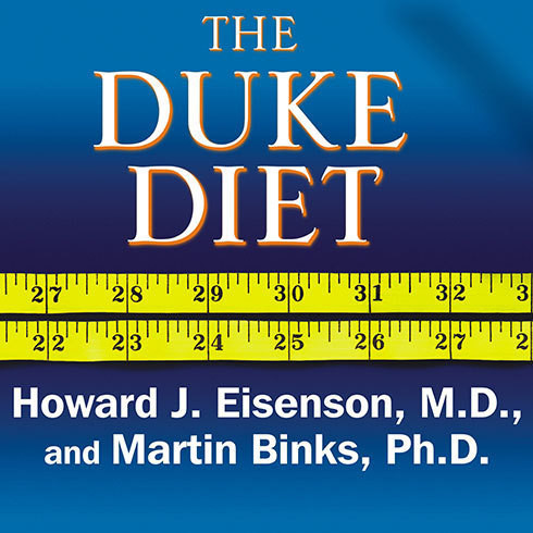 Printable The Duke Diet: The World-Renowned Program for Healthy and Lasting Weight Loss Audiobook Cover Art