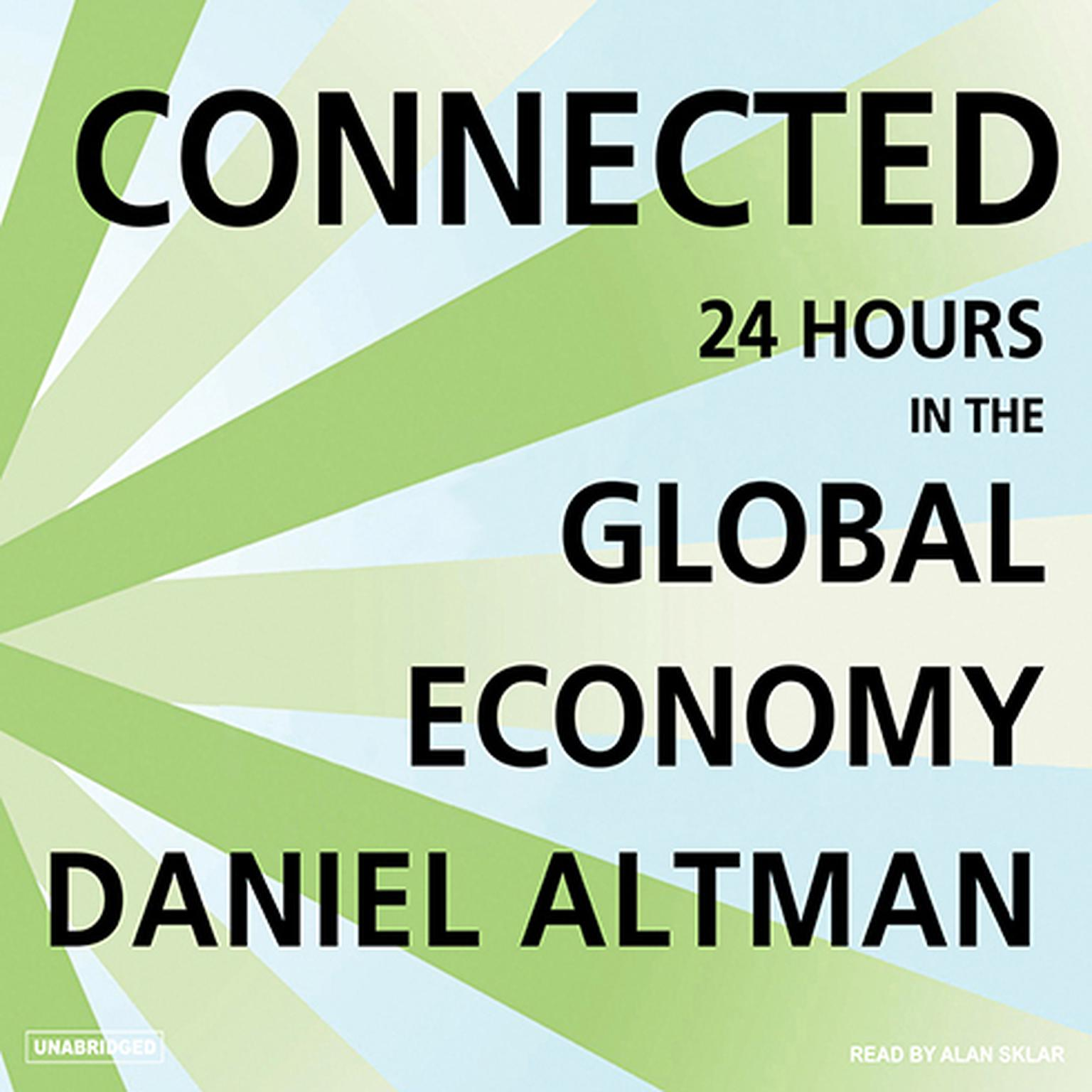 Printable Connected: 24 Hours in the Global Economy Audiobook Cover Art