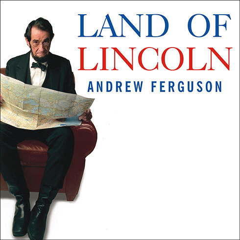 Printable Land of Lincoln: Adventures in Abe's America Audiobook Cover Art