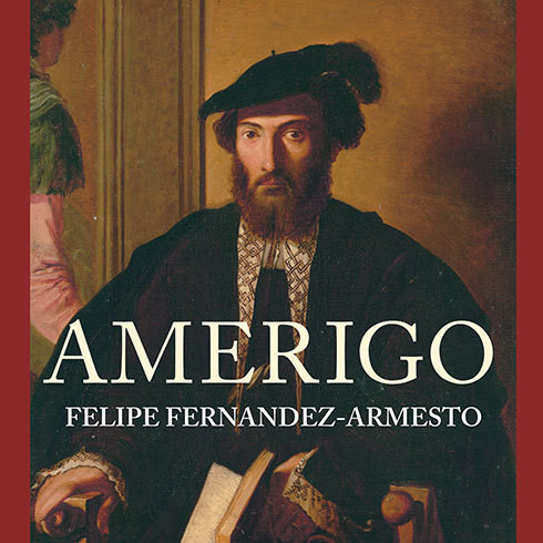 Printable Amerigo: The Man Who Gave His Name to America Audiobook Cover Art