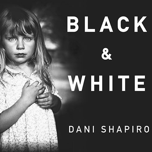 Printable Black and White Audiobook Cover Art