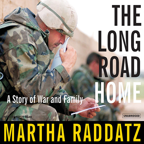 Printable The Long Road Home: A Story of War and Family Audiobook Cover Art