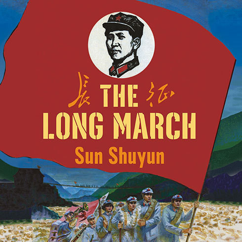 Printable The Long March: The True History of Communist China's Founding Myth Audiobook Cover Art