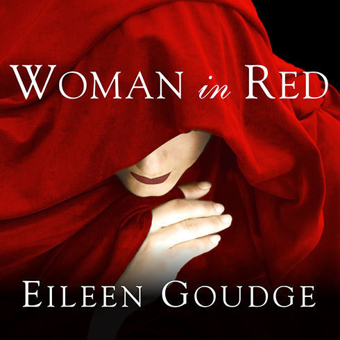Printable Woman in Red: A Novel Audiobook Cover Art