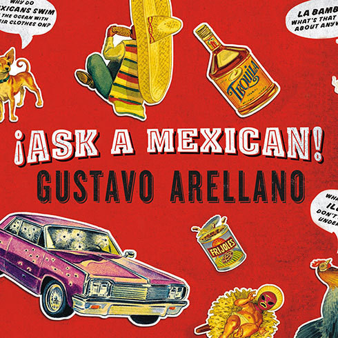 Printable Ask a Mexican Audiobook Cover Art