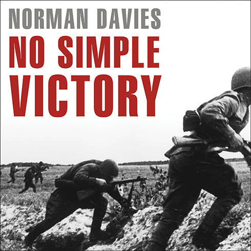 Printable No Simple Victory: World War II in Europe, 1939-1945 Audiobook Cover Art