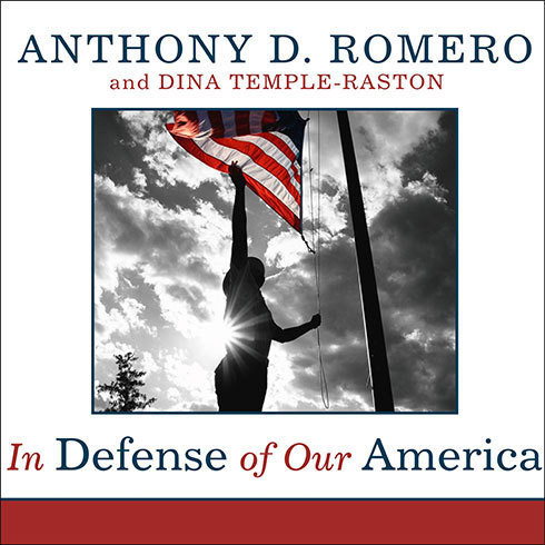 Printable In Defense of Our America: The Fight for Civil Liberties in the Age of Terror Audiobook Cover Art