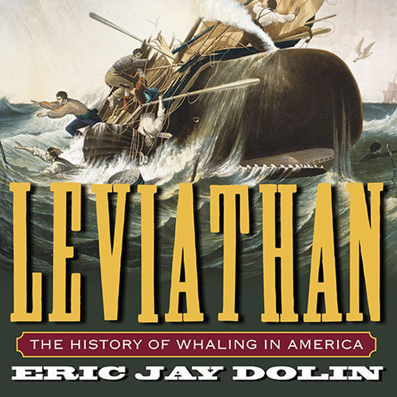 Printable Leviathan: The History of Whaling in America Audiobook Cover Art