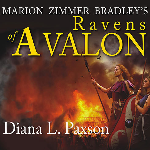 Printable Marion Zimmer Bradley's Ravens of Avalon Audiobook Cover Art