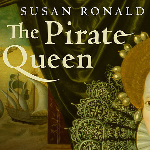 Printable The Pirate Queen: Queen Elizabeth I, Her Pirate Adventurers, and the Dawn of Empire Audiobook Cover Art