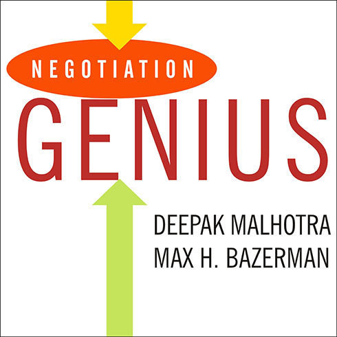 Printable Negotiation Genius: How to Overcome Obstacles and Achieve Brilliant Results at the Bargaining Table and Beyond Audiobook Cover Art