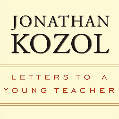 Printable Letters to a Young Teacher Audiobook Cover Art