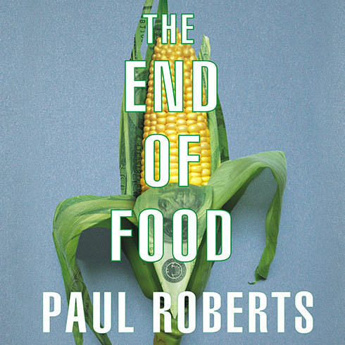 Printable The End of Food Audiobook Cover Art