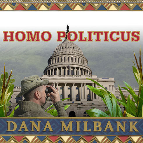 Printable Homo Politicus: The Strange and Scary Tribes that Run Our Government Audiobook Cover Art