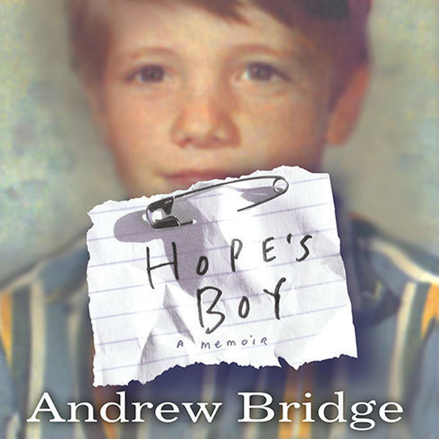 Printable Hope's Boy: A Memoir Audiobook Cover Art