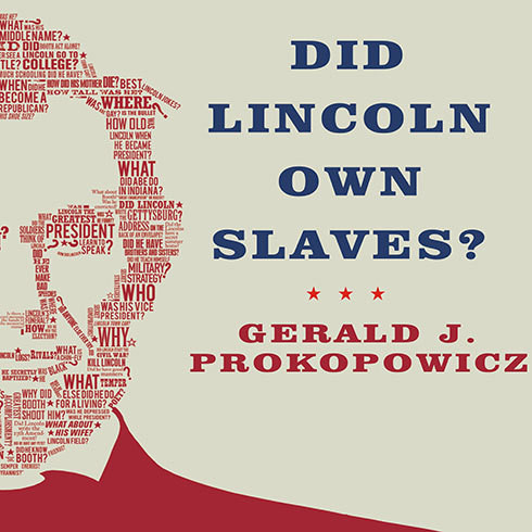 Printable Did Lincoln Own Slaves?: And Other Frequently Asked Questions about Abraham Lincoln Audiobook Cover Art