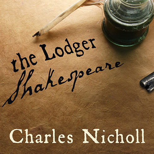 Printable The Lodger Shakespeare: His Life on Silver Street Audiobook Cover Art