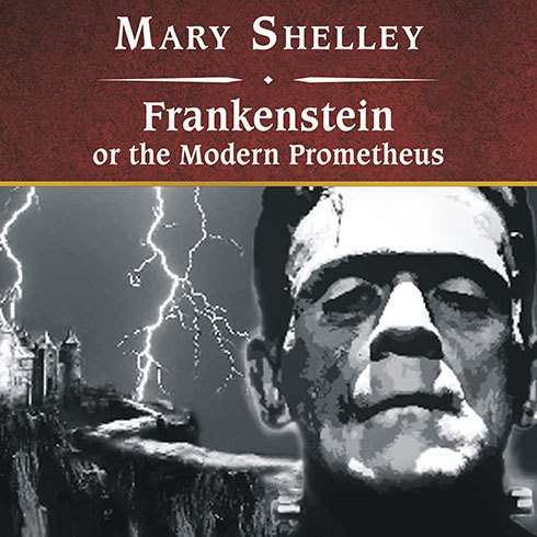 Printable Frankenstein, or the Modern Prometheus Audiobook Cover Art