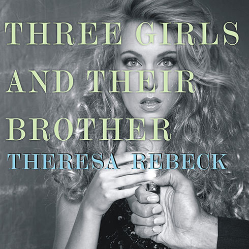 Printable Three Girls and Their Brother: A Novel Audiobook Cover Art