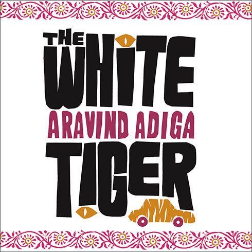 Printable The White Tiger: A Novel Audiobook Cover Art
