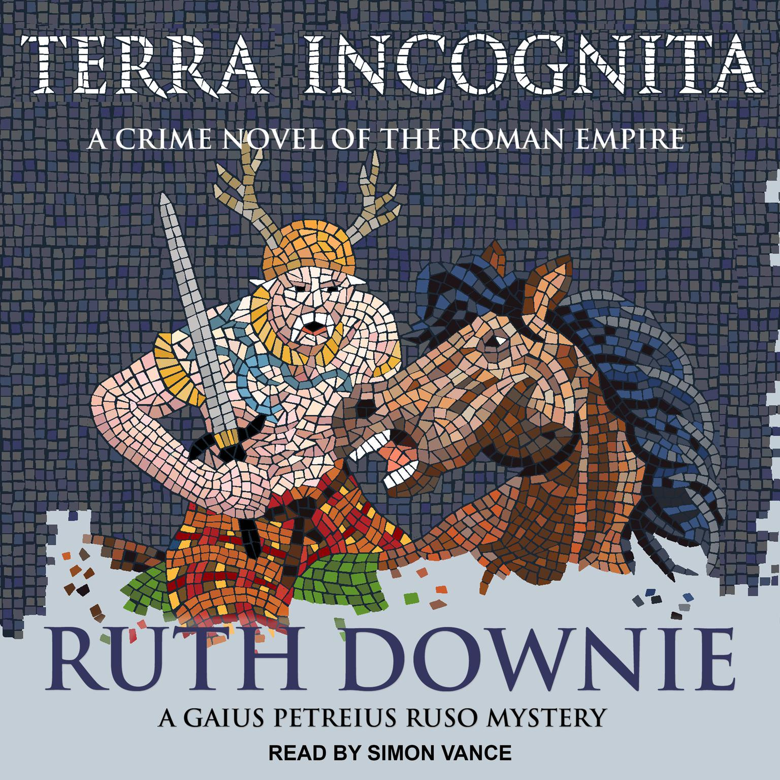 Printable Terra Incognita: A Novel of the Roman Empire Audiobook Cover Art
