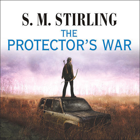 Printable The Protector's War Audiobook Cover Art