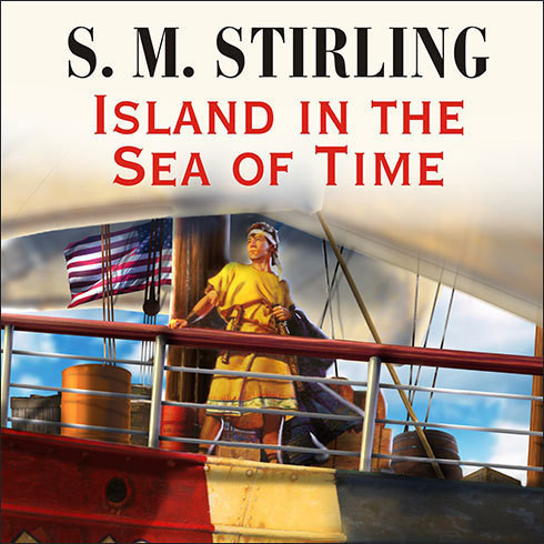 Printable Island in the Sea of Time Audiobook Cover Art