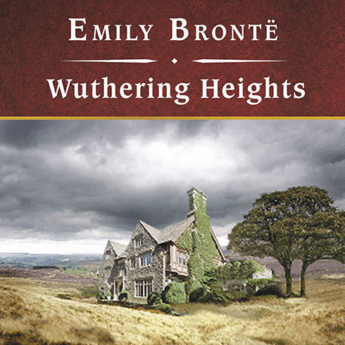 The cover of Wuthering Heights by Emily Bronte.