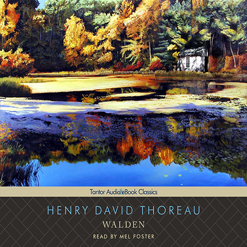 Printable Walden Audiobook Cover Art