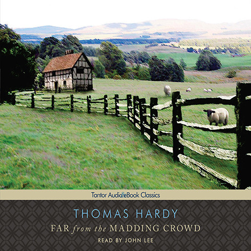 Printable Far from the Madding Crowd Audiobook Cover Art