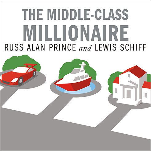 Printable The Middle-Class Millionaire: The Rise of the New Rich and How They Are Changing America Audiobook Cover Art