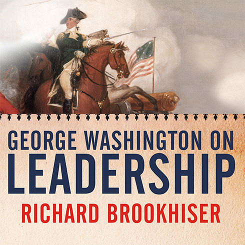 Printable George Washington on Leadership Audiobook Cover Art