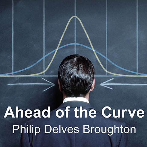 Printable Ahead of the Curve: Two Years at Harvard Business School Audiobook Cover Art