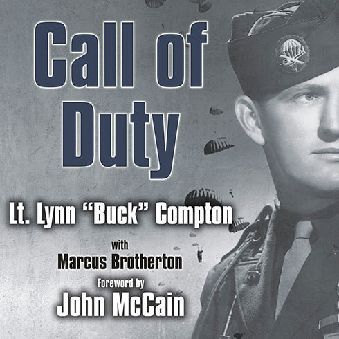Printable Call of Duty: My Life Before, During, and After the Band of Brothers Audiobook Cover Art