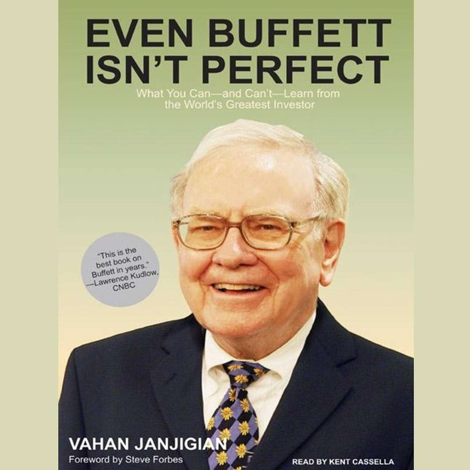 Printable Even Buffett Isn't Perfect: What You Can---and Can't---Learn from the World's Greatest Investor Audiobook Cover Art