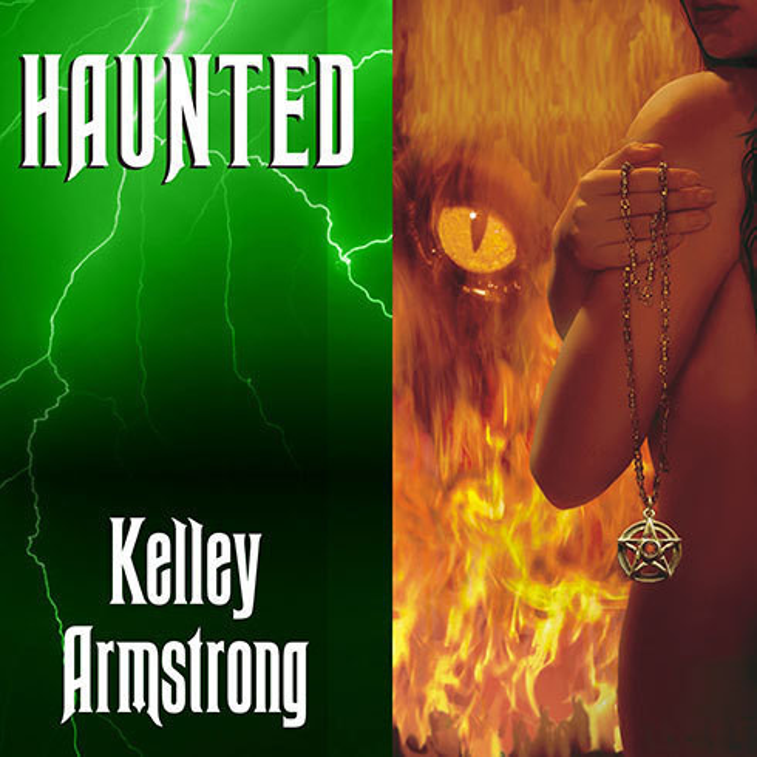 Printable Haunted Audiobook Cover Art