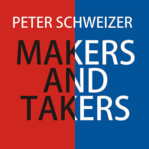 Printable Makers and Takers: Why Conservatives Work Harder, Feel Happier, Have Closer Families, Take Fewer Drugs, Give More Generously, Value Honesty More, Are Less Materialistic and Envious, Whine Less...and Even Hug Their Children More Than Liberals Audiobook Cover Art