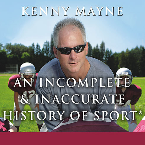 Printable An Incomplete and Inaccurate History of Sport Audiobook Cover Art
