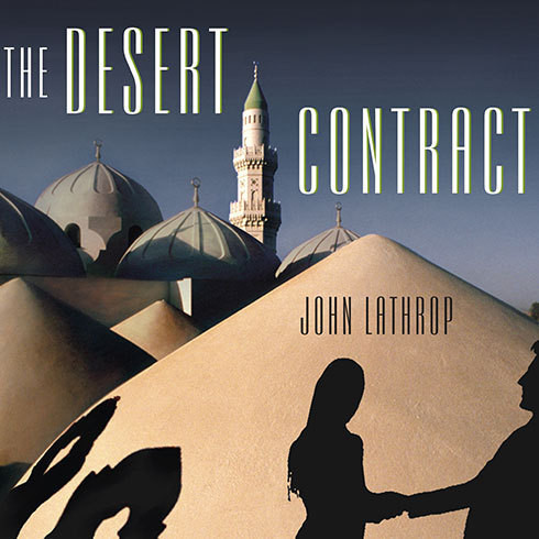 Printable The Desert Contract Audiobook Cover Art