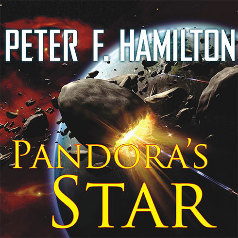 Printable Pandora's Star Audiobook Cover Art