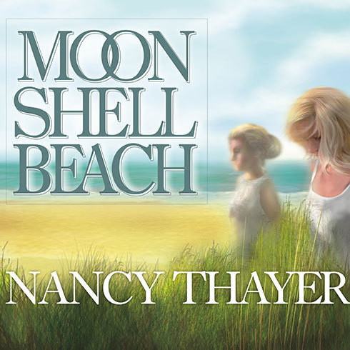 Printable Moon Shell Beach: A Novel Audiobook Cover Art