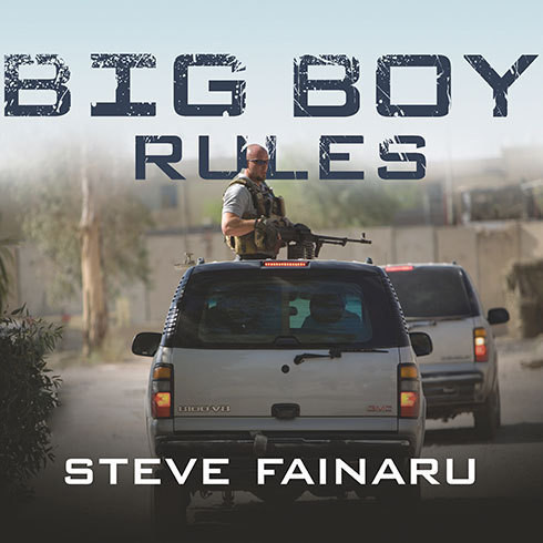 Printable Big Boy Rules: America's Mercenaries Fighting in Iraq Audiobook Cover Art