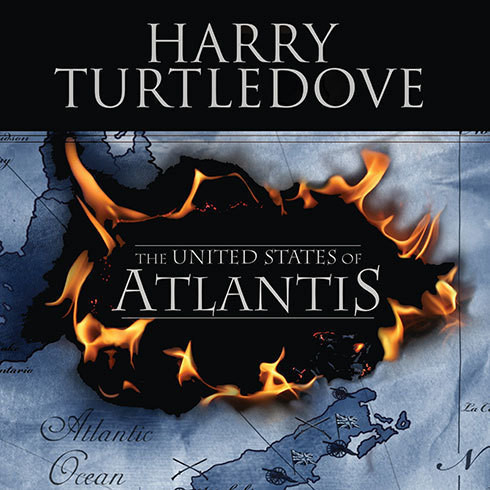 Printable The United States of Atlantis: A Novel of Alternate History Audiobook Cover Art