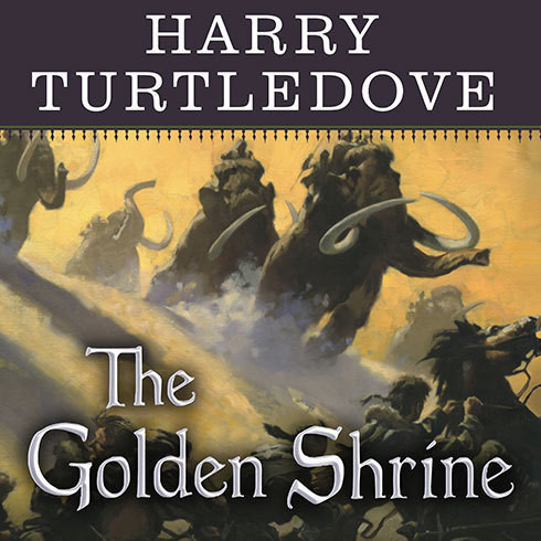 Printable The Golden Shrine: A Tale of War at the Dawn of Time Audiobook Cover Art