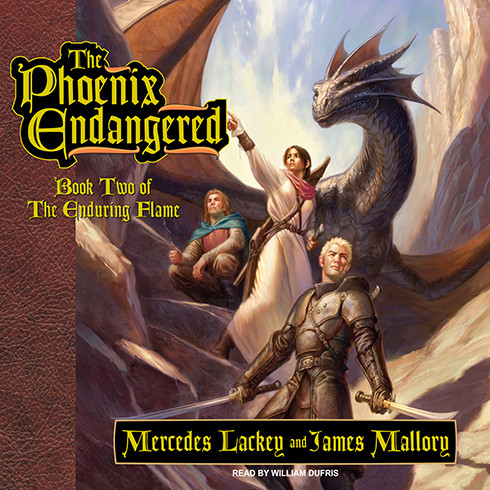 Printable The Phoenix Endangered: Book Two of the Enduring Flame Audiobook Cover Art