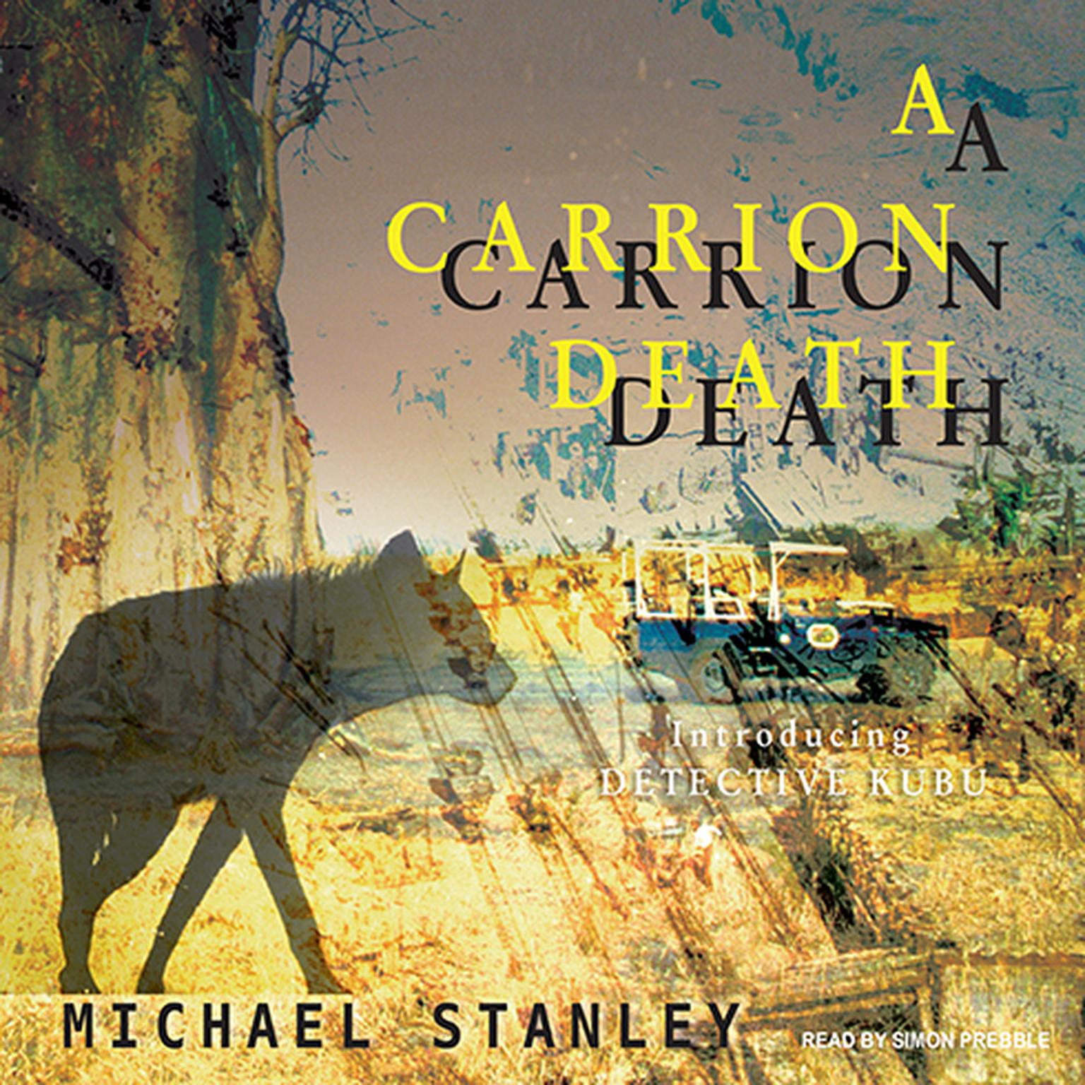 Printable A Carrion Death: Introducing Detective Kubu Audiobook Cover Art