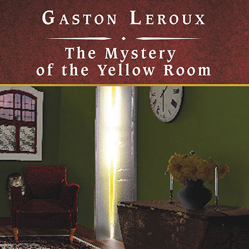 Printable The Mystery of the Yellow Room Audiobook Cover Art