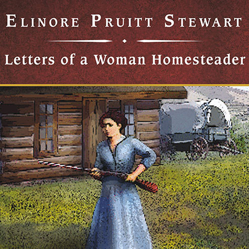 Printable Letters of a Woman Homesteader Audiobook Cover Art