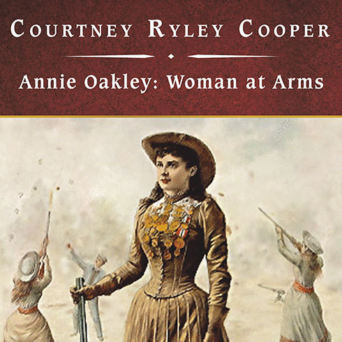 Printable Annie Oakley, Woman at Arms Audiobook Cover Art