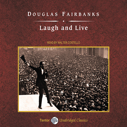 Printable Laugh and Live Audiobook Cover Art